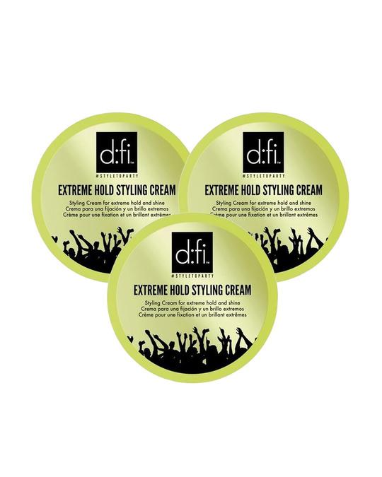 D:fi 3-pack D:fi Extreme Cream 75g