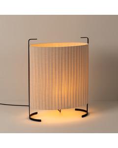 Modern Lampa För Utomhus Med Texturerad Textilskugga