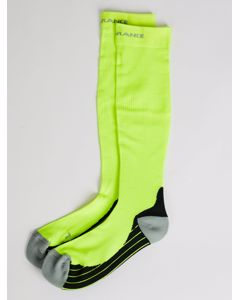 Curtis Compression Socks Safety Yellow