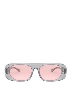 Be4322 Transparent Grey Zonnenbrillen