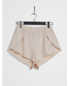 Side Slit Lyocell Shorts Pink