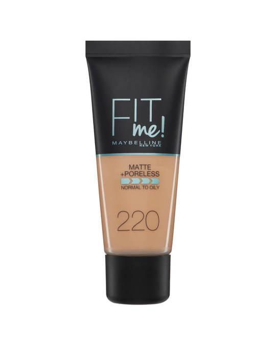 Maybelline Maybelline Fit Me Matte + Poreless Foundation- 220 Natural Beige