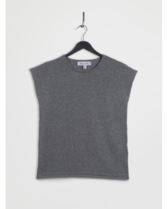 100% Recycled Sleeveless Top Grey