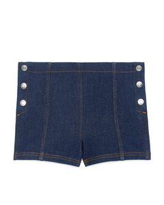 Sailor Denim Shorts Dark Blue
