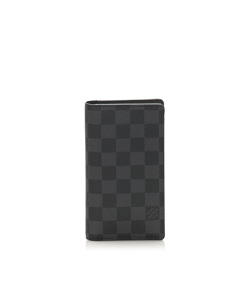 Louis Vuitton Damier Graphite Alexandre Wallet Black