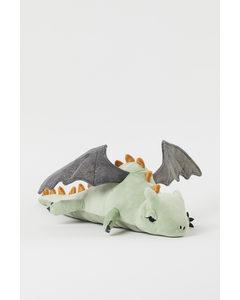 Stort Gosedjur Ljusgrön/drake