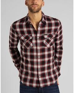 Clean Western Shirt Red Ochre