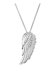 Angel Necklace Large Steel