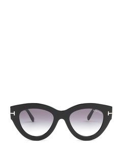 Ft0658 Black Solglasögon