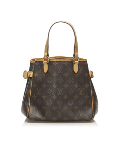 Louis Vuitton Monogram Batignolles Vertical Brown