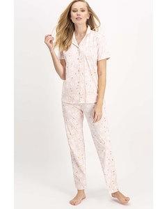 Swan Printed Pajama Set
