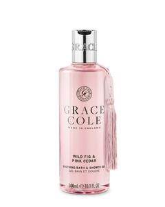 Grace Cole Wild Fig & Pink Cedar Bath & Shower Gel 300ml