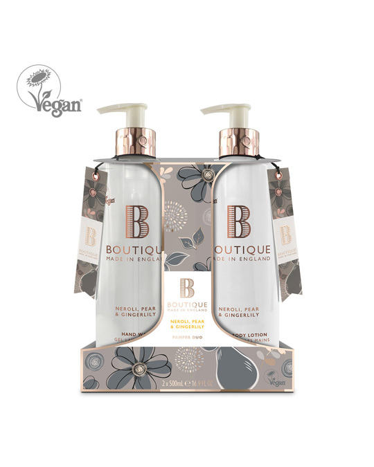 Boutique Boutique Neroli, Pear & Gingerlily Hand Duo