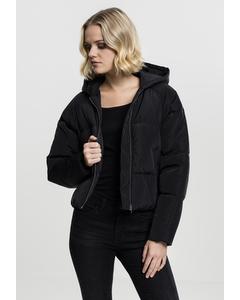 Ladies Hooded Oversized Puffer Jacket