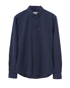 Kyle Oxford Shirt-blue-white Check