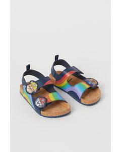 Sandalen mit Motiv Dunkelblau/Paw Patrol