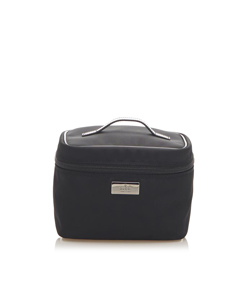 Gucci Canvas Vanity Bag Black