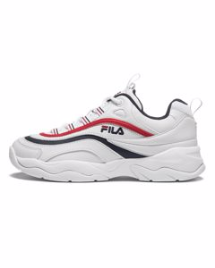 Ray Low Wmn White / Fila Navy / Fila Red