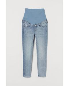 Mama Skinny Ankle Jeans Ljus Denimblå