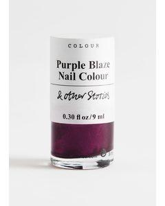 Purple Blaze Nail Polish Purple Blaze