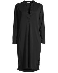 Filippa K Dress Side Slit Tunic Dress Black
