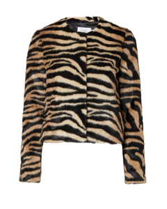Sofia Jacket Zebra Print