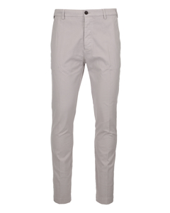Cotton Chino Trousers Light Pink/beige