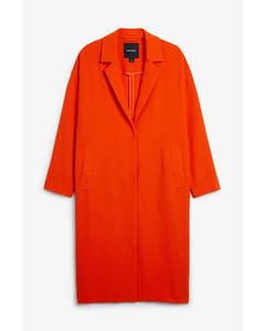Lana Coat Orange