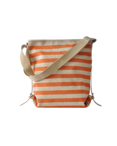 Shoulder Bag Villa Stripe Orange
