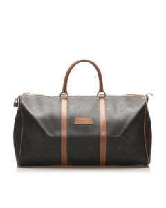 Dior Honeycomb Travel Bag Black