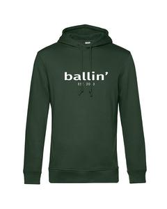 Ballin Est. 2013 Basic Hoodie Grun