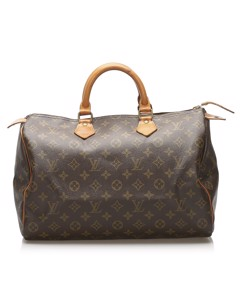 Louis Vuitton Monogram Speedy 35 Brown
