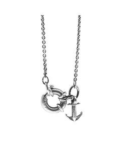 Anchor & Crew Clyde Anchor Signature Silver Necklace Pendant