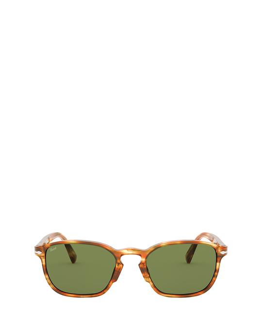 Persol Po3234s Striped Brown & Yellow Sunglasses