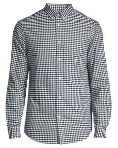 Mvp Bancroft Oxford Shadow Check Shirt  Navy