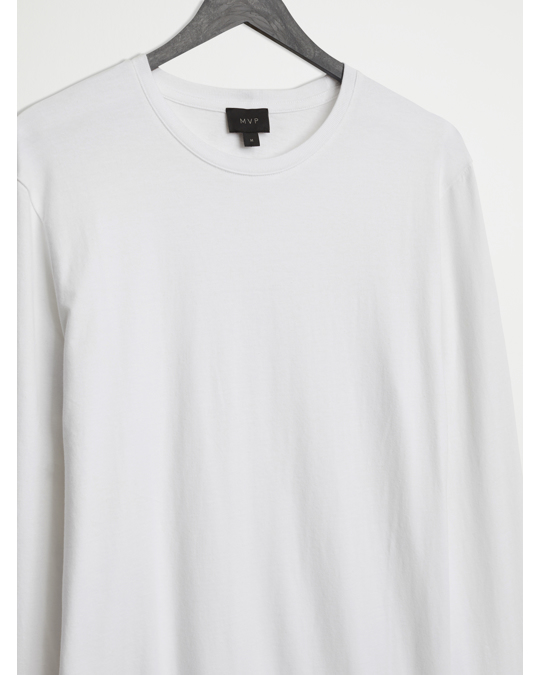 MVP Mvp Ashfield Long Sleeve Crew Neck T-shirt White