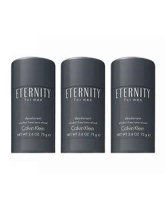 3-pack Calvin Klein Eternity For Men Deostick 75ml