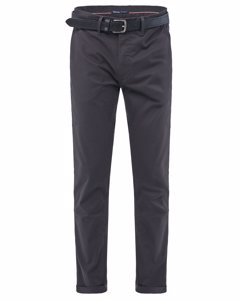 Andy Slim Trousers With Microprint