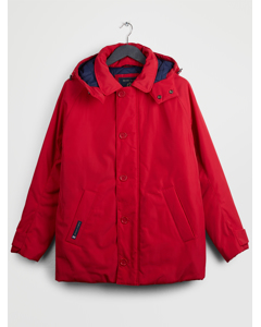 Traditional Consort Hood Oxford A Red