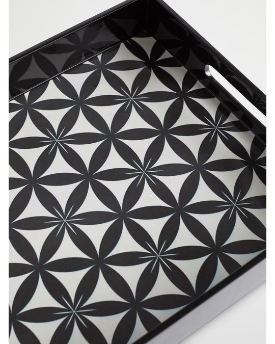 Lulu Carter Design Ribbon Flower Black