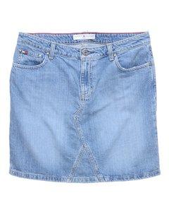 1990s Tommy Hilfiger Midi Skirt