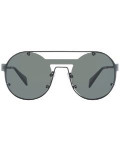 Yohji Yamamoto Mint Unisex Black Sunglasses Yy7026 13002 136-138 Mm