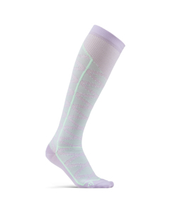 Compression Pattern Sock - Flare/plexi-purple-eu 37/39