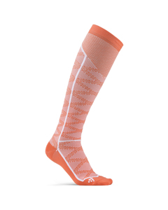 Compression Pattern Sock - Boost/white-pink-eu 37/39