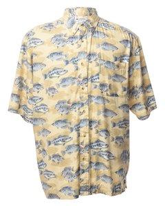 1990 Columbia Kortärmad Skjorta