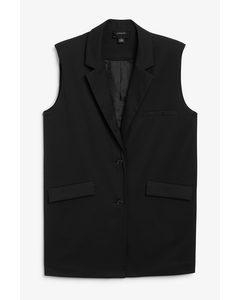 Blazer Vest Black