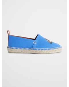 Embroidered Espadrilles  Blue Multi