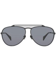 Yohji Yamamoto Mint Unisex Black Sunglasses Yy7039 61002 61-14-147 Mm
