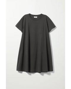Teeny A-line Tee Dress Grey
