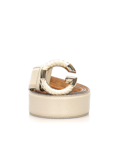 Gucci Leather Belt White